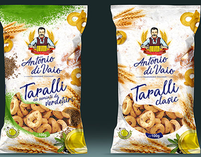 Graphic design for Taralli