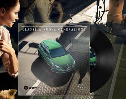 Mercedes-Benz: A-xperience, Digital Activation & Evento