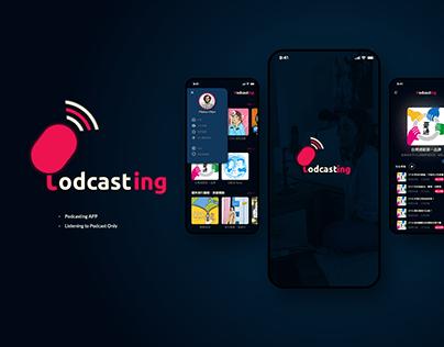 【UI/ Mobile/ Branding】Podcasting