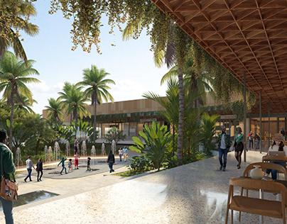 CES-ESQ Mall, Africa
