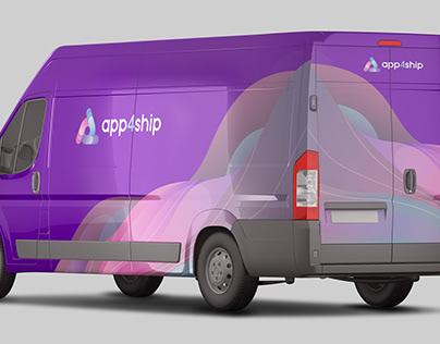 App4Ship Van Branding