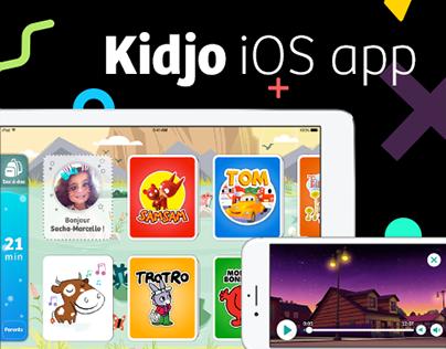 Kidjo iOS app