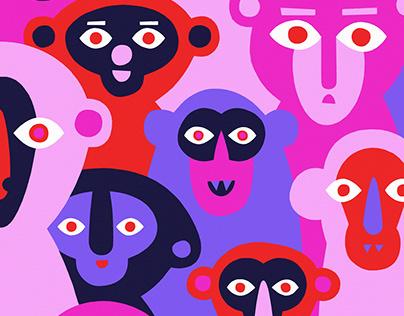 Psychedelic Monkeys