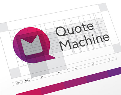 Quote Machine Brand Design