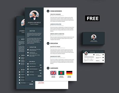 Free Portfolio Resume