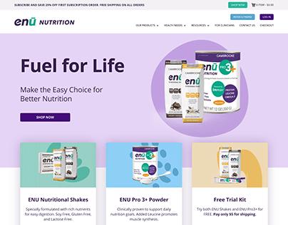 ENU Nutrition (Web Development)