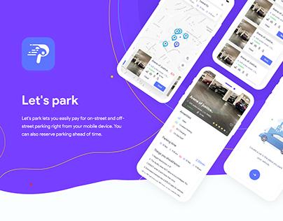 Car Parking App ui ux