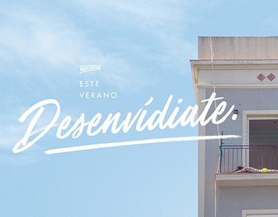 DESENVÍDIATE. Campaña de verano para Pescanova.