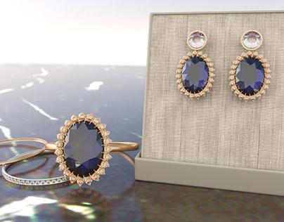 The Royal Jewels Garrard Engagement Set