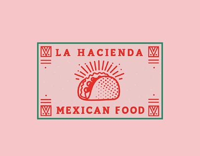 """Logo """"La hacienda mexicana"""""""