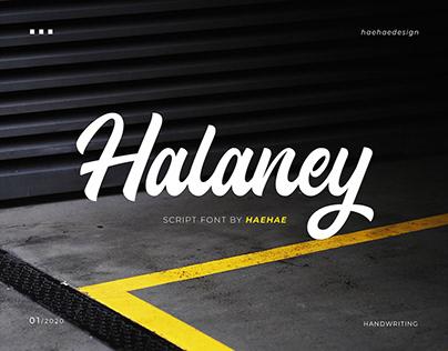 Halaney Script Font (UPDATE FREE DOWNLOAD)