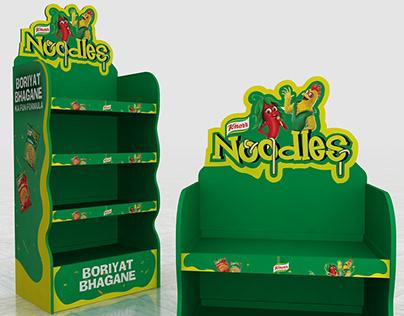 Knorr Noodles Gondolas