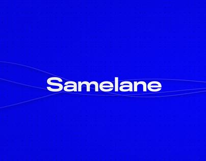 Samelane — branding, web design