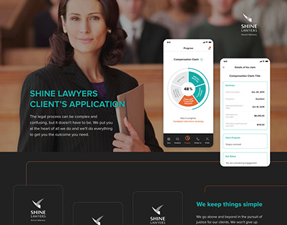 Mobile App for the law company