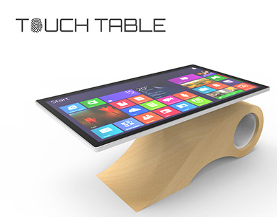 Multi-Touch Interactive Table
