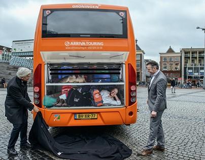 'Er gaat niets boven Groningen' illustratiesArriva Tou