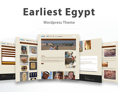 Earliest Egypt - Wordpress Theme