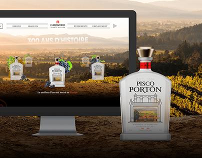 Pisco Portón - Design Web