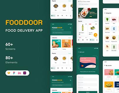 Fooddoor - Food delivery app