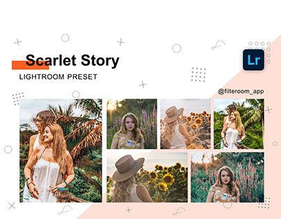 Lightroom Presets - Scarlet Story - Filteroom app
