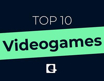 TOP 10 - Videogames