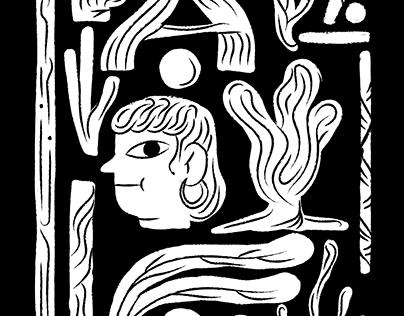 Illustrations for Nový Prostor