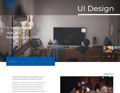IKEA Web UI redesign