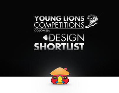 Young Lions 2015 - Design - SHORTLIST -