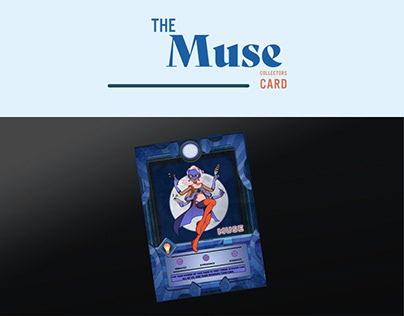 The Muse - Collectors Card
