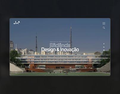 Arquitetura JAA - Architecture Firm Portfolio Webdesign