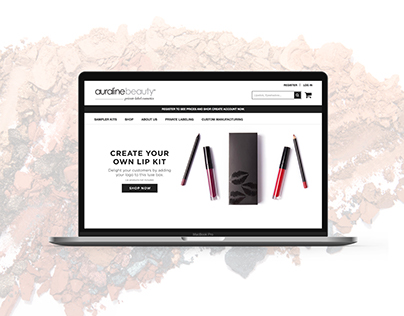Cosmetics Website