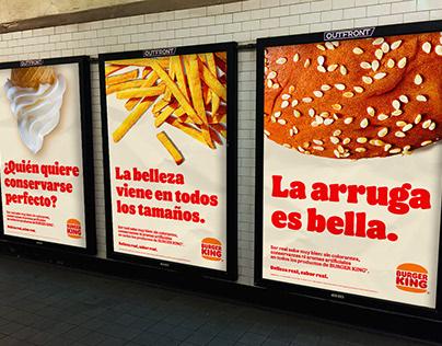 Belleza real, sabor real - Burger King