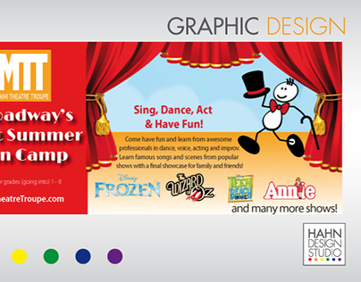 Banner for Client Website | Mini Theatre Troupe