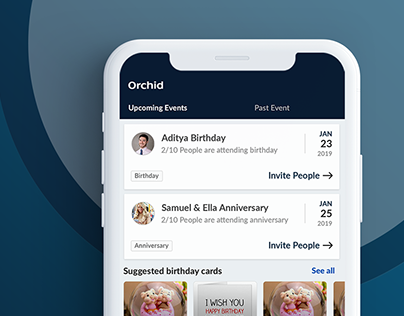 Orchid Mobile app