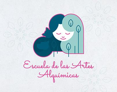 Escuela de las Artes Alquímicas / Diseño de marca