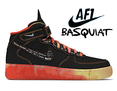 NIKE X BASQUIAT / Limited Edition Sneakers