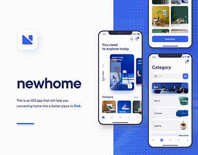 Newhome - Furniture app
