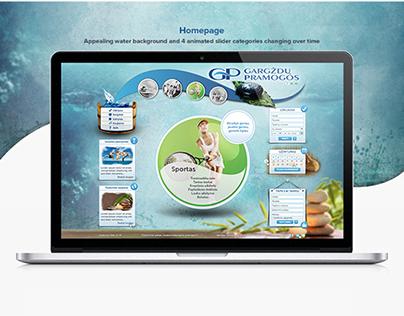 GP entertainment complex website