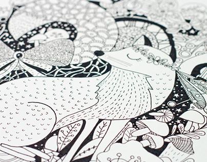 Strange Dreams Doodle