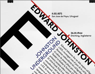 Edward Johnston Poster