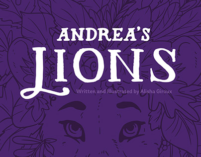 Andrea's Lions - Self Published Children's Book
