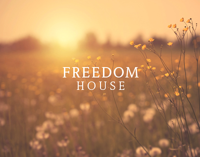 Freedom House Logo Design