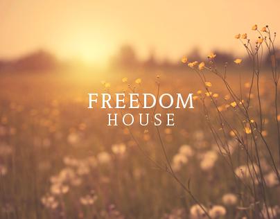 Freedom House Logo Design