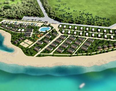 camping resort, master plan, conceptual design/Croatia