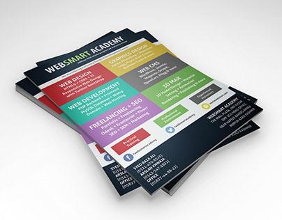 Flyer Design for Websmart Academy