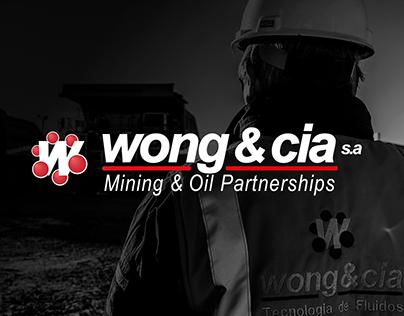 WONG & CIA Brochure y Triptico