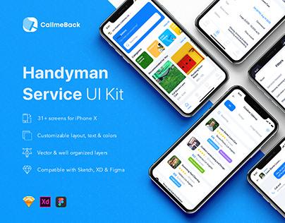 CallmeBack - Handyman Service UI Kit