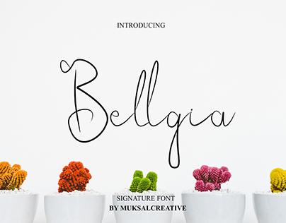 Bellgia Font