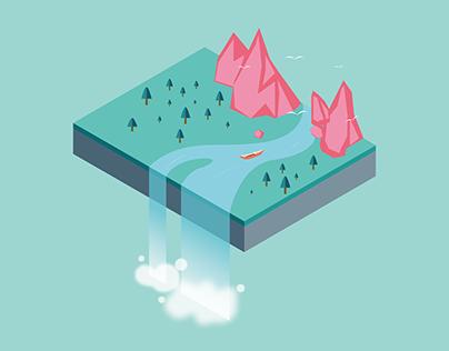illustration 2.5D