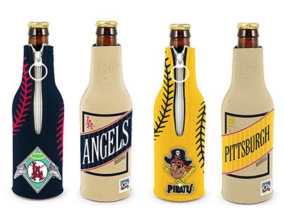 MLB Nostalgia Bottle Koozies